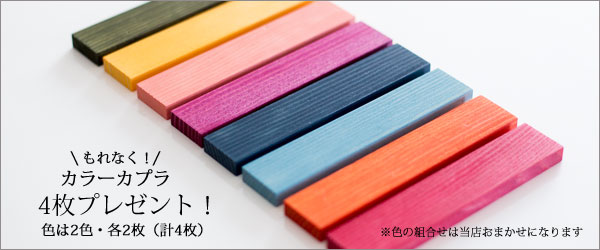 カラーカプラプレゼント