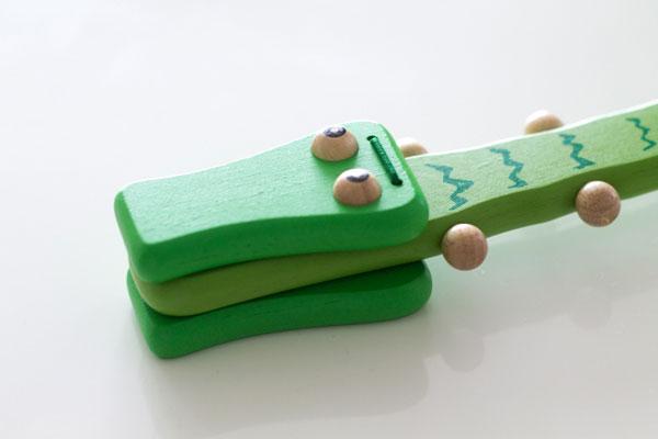 クロコダイル 木製おもちゃ