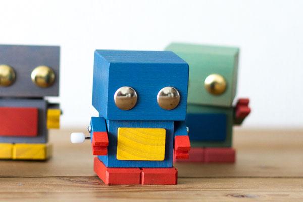 おもちゃのこまーむ/ブリ木ロボブルー