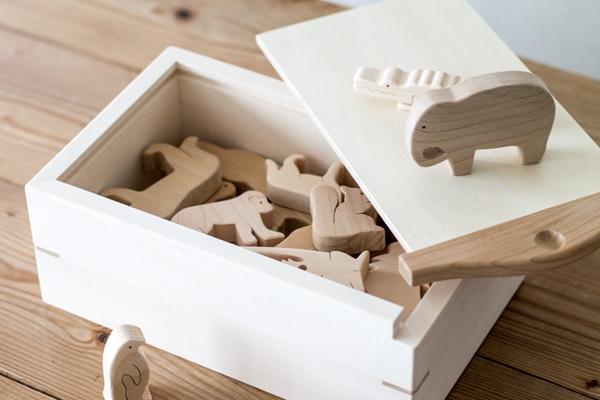 木のZOO木箱入りメイン拡大