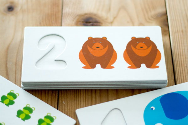 数字2のカード拡大