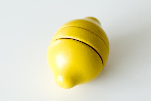 レモン真上から
