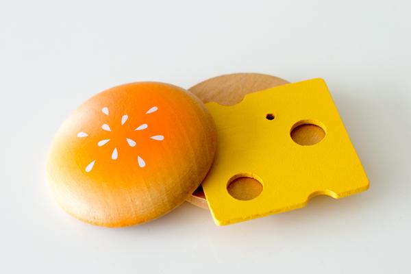 バンズ、チーズ拡大