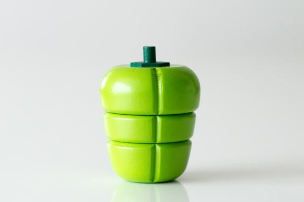 ままごと食材 緑ピーマンメイン拡大