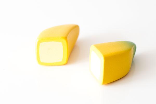 バナナ切り口