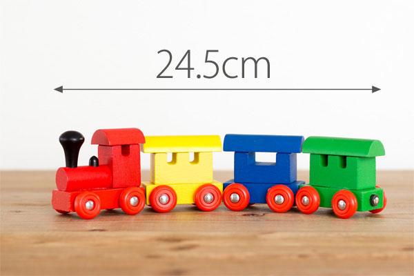 エドインター 4両編成機関車