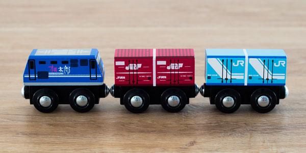 JR貨物 木製鉄道