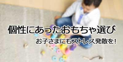 好きな遊びのおもちゃをプレゼント