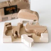 木のZOOパズル