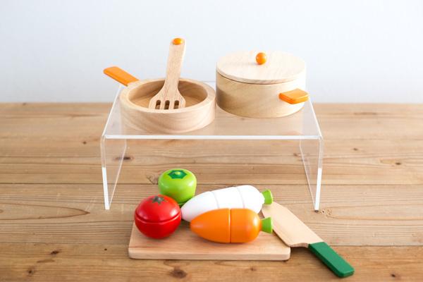 木製調理用具セット&お野菜サクサクセットメイン