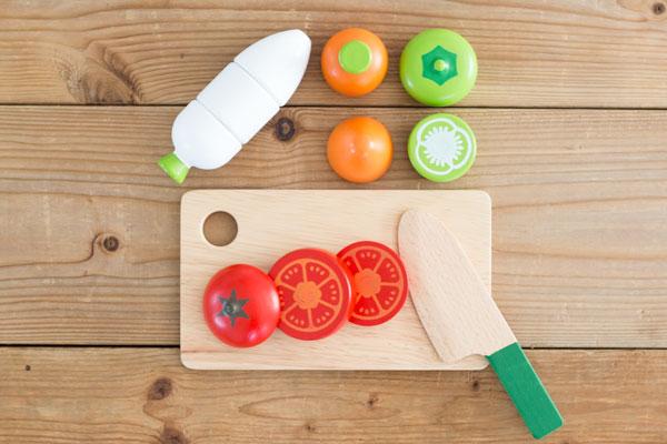 木製野菜のセット内容